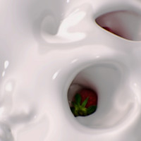 Strawberries and Cream (Slow Motion)