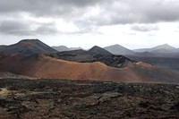 Timanfaya fire mountains