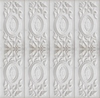 Wall flower design pattern