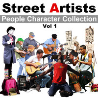 Street Artists Character Collection Vol 1