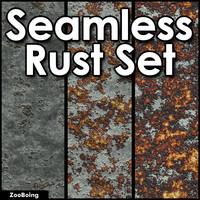 Set 023 - 3 Rust Textures