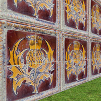 Victorian tiles high res seamless