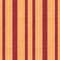 Coordinated Cottons - Red on Apricot Stripes