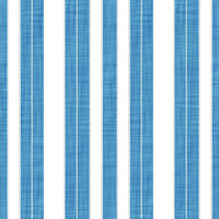 Coordinated Cottons - White on Blue Stripes