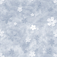 Fun with Florals - Blue Floral 1