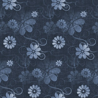 Fun with Florals - Blue Floral 4