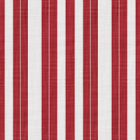 Coordinated Cottons - White on Red Stripes