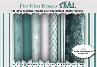 Fun with Florals - TEAL Collection