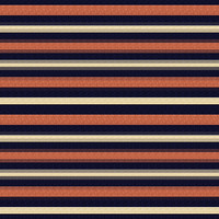 Country Club Twills - Ocean Sunset Stripe