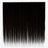 Straight Black Hair Texture