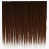 Brown straight hair texture
