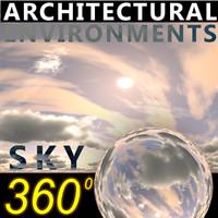 Sky 360 Clouded 005