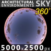 Sky 360 Sunset 068 5000x2500