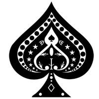 Vector Stock: Spades Symbol