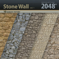 Stone Wall Textures vol.1