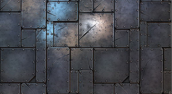 Steel Plate Texture 40  Complete  success