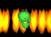Skull Animated GIF