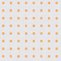 Coordinated Cottons - Apricot on White Polka-Dots