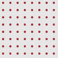 Coordinated Cottons - Red on White Polka-Dots