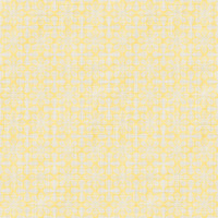Coordinated Cottons - White on Yellow Damask