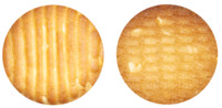 Brown cashew nut cookie texture map
