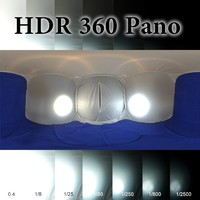 HDR 360 pano Light Tent