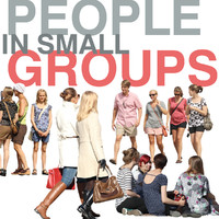 People in small groups