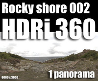 Hdr Rocky shore 002