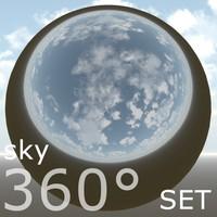 360 environment sky texture 03