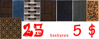 Texture Pack! 25 carpets and textiles