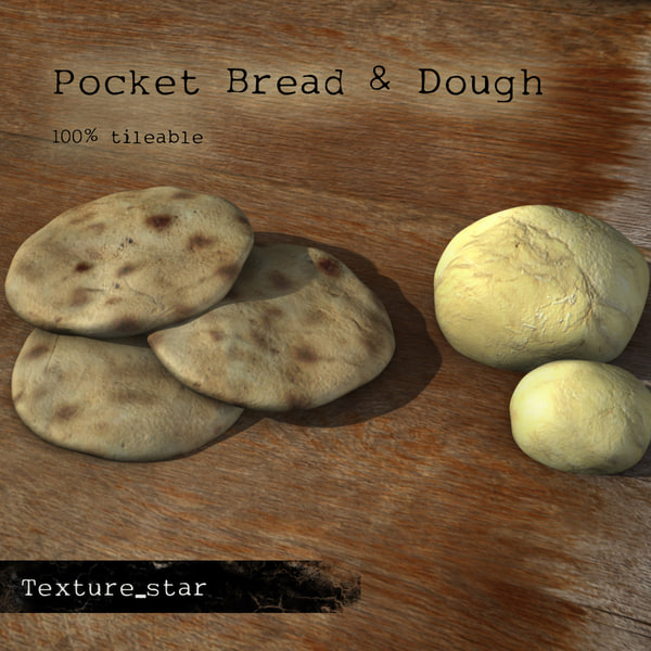 Texture Jpg Dough Pocket Bread