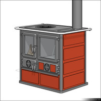 Stove Kitchen 00226se