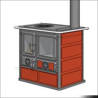 Stove Kitchen 00226se