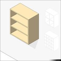 Kitchen Unit Wall Mount Shelf 01421se