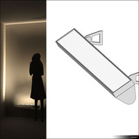 Lamp Wall 01455se