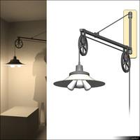 Lamp Wall Swing Arm 01482se