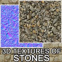 3D Textures of stones vol.1
