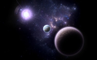 Alternative planetary system Q01