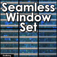 Set 059 - Glass Windows
