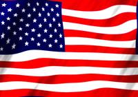 Seamless American Flag