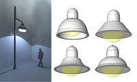 Light Post Set Single Mast