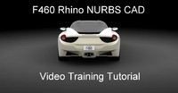 F460 Car Rhino CAD Training Tutorial