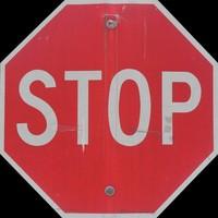 STOP SIGN TEXTURE B