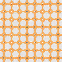 Coordinated Cottons - White on Apricot Modern Dots