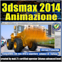 3dsmax 2014 Animazione v.4.0 Italiano_cd front
