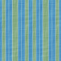 Coordinated Cottons - Green on Blue Stripes