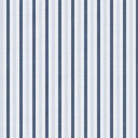 Fun with Florals - Blue Stripe