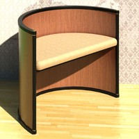 3d chair hotel furniture