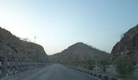 between mountain view