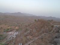 down mountain view
